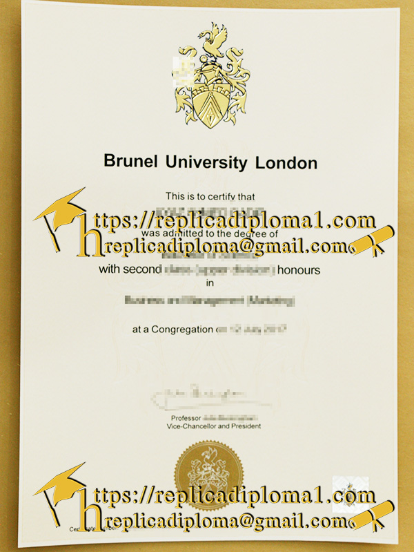 Who Can Provide the Best Replica degree of Brunel U