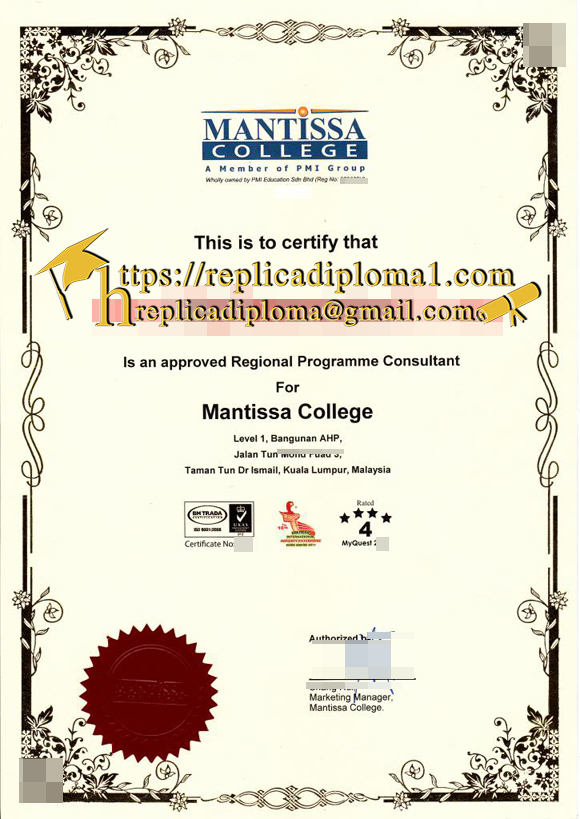 Is It Valid to Buy a Fake Diploma of Mantissa Colle