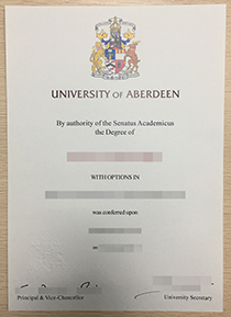 How to get the University of Aberdeen fake degree