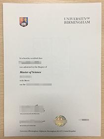 University of Birmingham fake diploma for sale