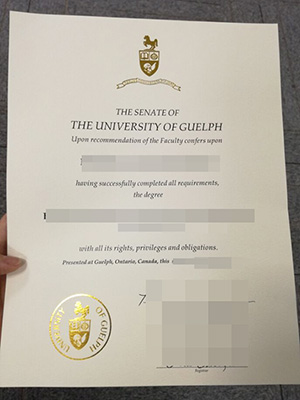 How to buy a University of Guelph fake degree in Ca