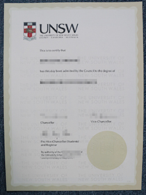 How Much Does It Cost For A Fake Degree of UNSW?