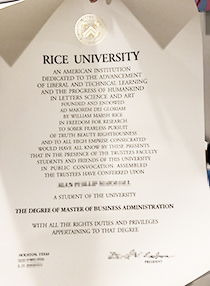 Buy Fake Rice University Degree&Buy Fake Transc