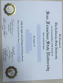 How Useful It Is to Buy A Fake Diploma From SFSU!
