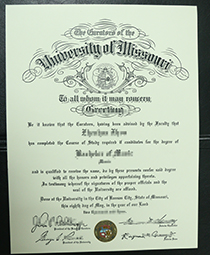 I Need to Buy A Fake University of Missouri Degree