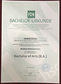 How to Buy a fake FOM Hochschule diplom online?