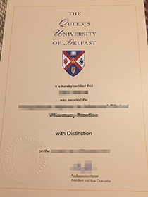 Buy Fake Queen's University of Belfast Degree&F