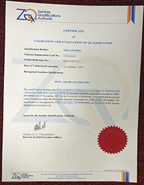 How to Buy Fake Zambia Qualification Certificate On