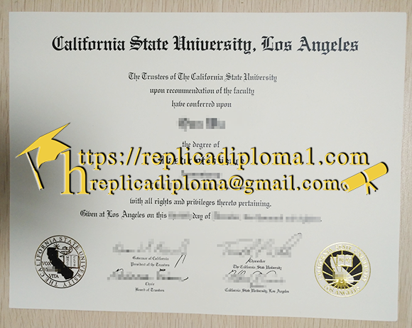 How to Create a Fake California State University Lo