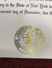 How Does the Gold Seal of State University of New York Degree