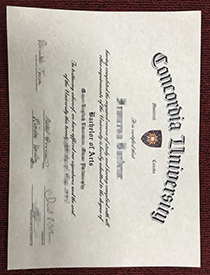 Buy false Concordia University diploma online is th