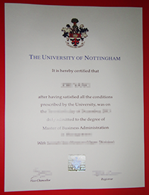 Buy Fake University of Nottingham Degree for Promot