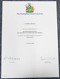 How about to buy a fake Nottingham Trent University