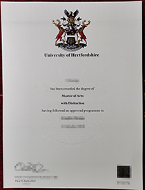 Get a fake diploma of University of Hertfordshire!