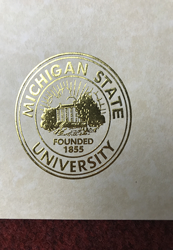 How to buy a fake diploma of Michigan State University(MSU) w