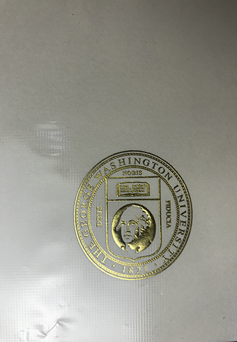 How Does a Real Golden Seal of George Washington University(G