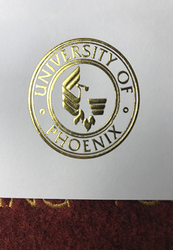 How Does a Real Golden Seal of University of Phoenix(UOP) Deg