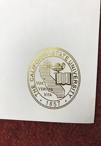 How Does the Real Golden Seal of California State University(