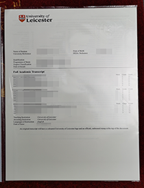 Buy a Fake University of Leicester Transcript with