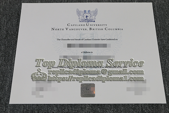 I would like to order a diploma certificate from Capilano University