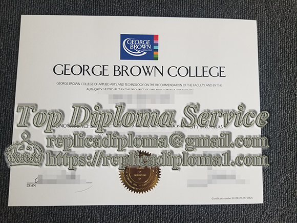 How to buy a fake  diploma from GEORGE BROWN COLLEGE