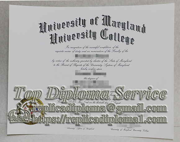 how to buy University of Maryland  fake diploma