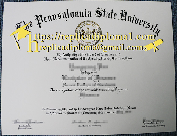PSU degree