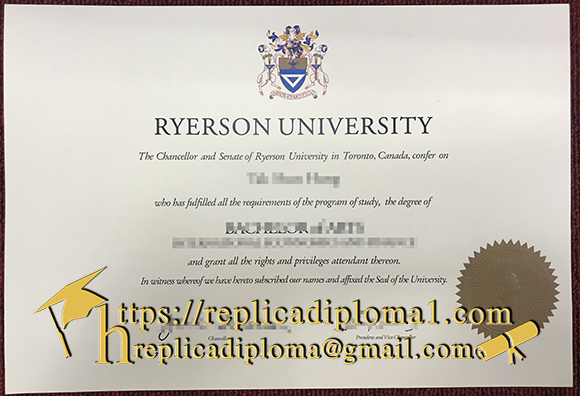 ryerson university degree
