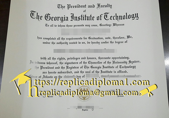 Georgia Institute of Technology degree