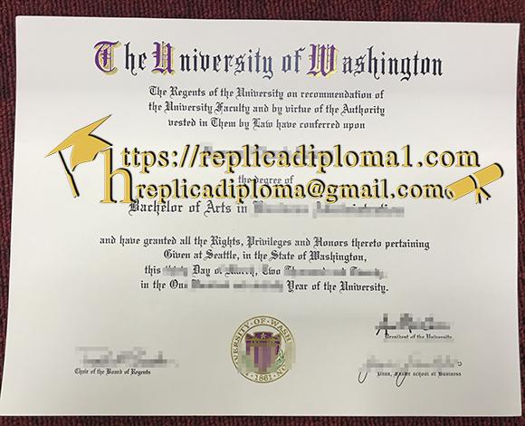 washington university degree diploma fake west seattle hong certificates college