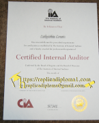 How Much Does A Fake Certified Internal Auditor (CI
