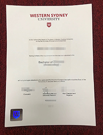 Great! I Received My Fake WSU (Western Sydney Unive